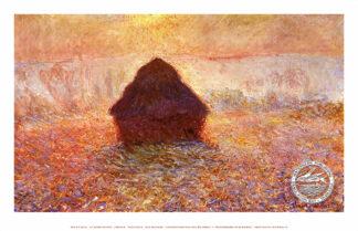 Haystack Sun In Haze