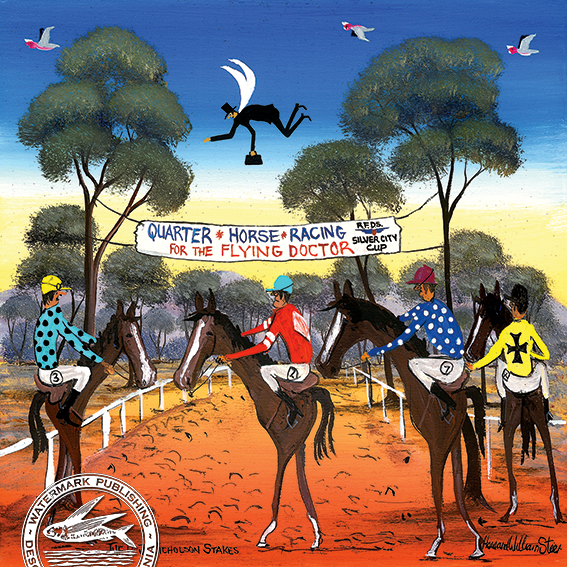 QUARTER HORSE RACING F...