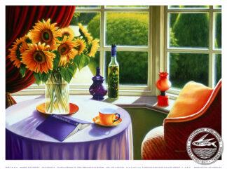 sunflowers breakfast