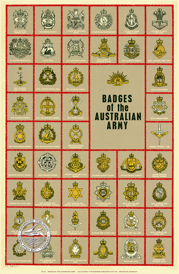 BADGES OF THE AUSTRALIAN ARMY
